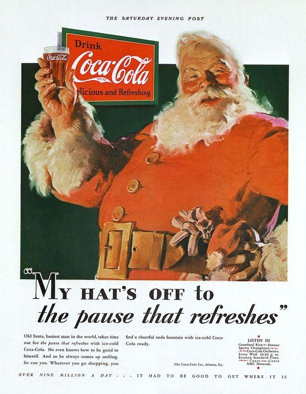 Czy to Coca Cola stworzyła św. Mikołaja?