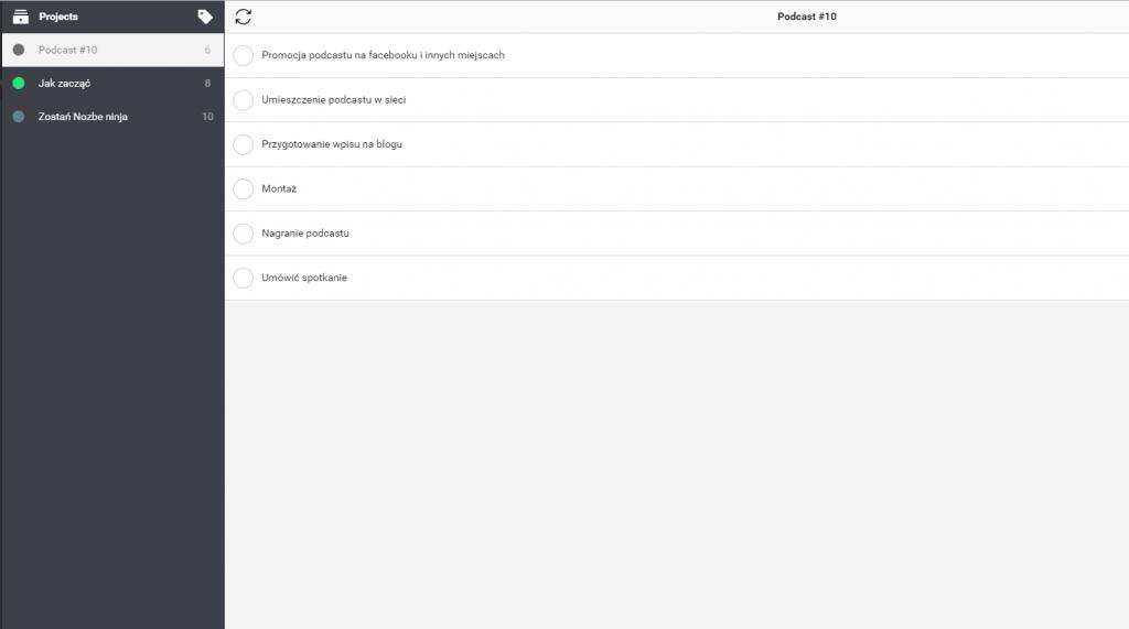 aplikcje do zarządzania zespołem nozbe